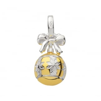 Festive Bi-Colour Bauble Charm 5030.2547