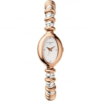 Ladies Sweetheart Steel and Rose Gold Watch 6010.2150