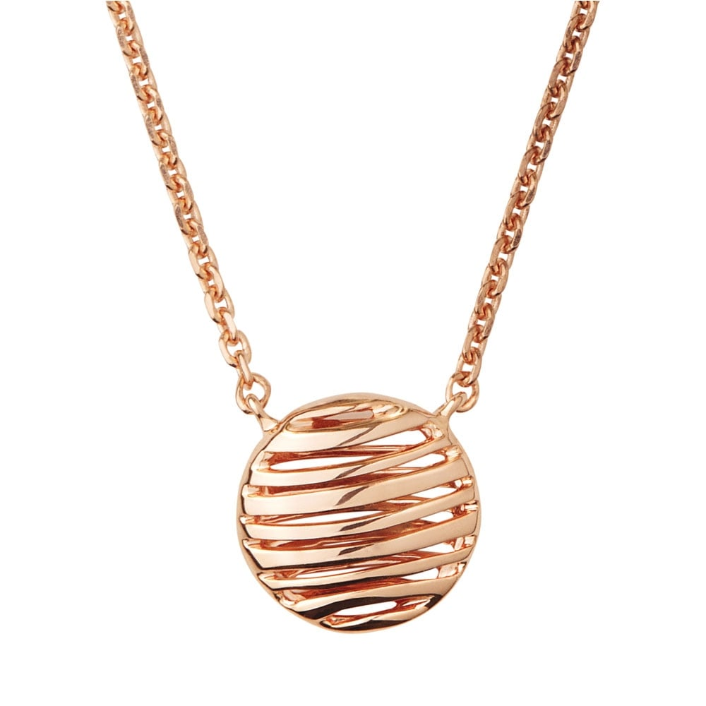 Links of london thames rose gold necklace jewellery from francis thames rose gold necklace aloadofball Gallery