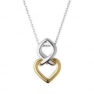 Ladies Two Tone Ininite Love Necklace 5020.3279