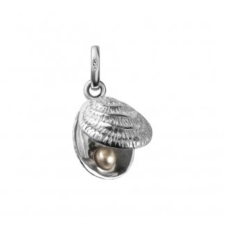 Lucky Catch Charm with Single Pearl 5030.0414