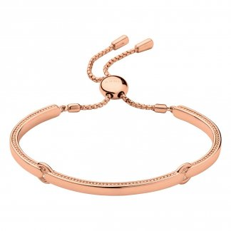 Narrative 18ct Rose Gold Vermeil Bracelet