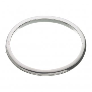 Plain Classic Oval Bangle