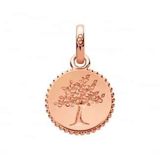 Rose Gold Amulet Tree of Life Pendant