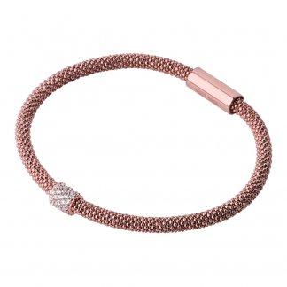 Rose Gold Star Dust Bead Bracelet 5010.2502