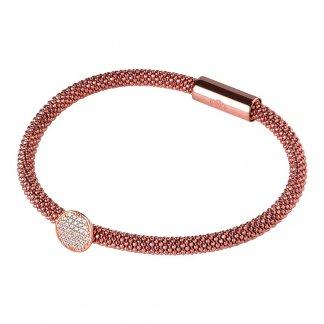 Rose Gold Star Dust Round Bracelet 5010.2489