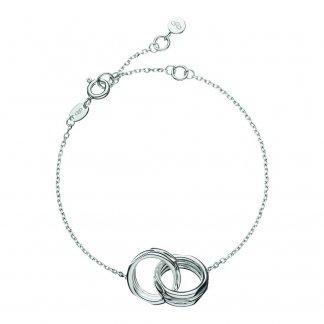Silver 20/20 Interlocking Bracelet 5010.1152