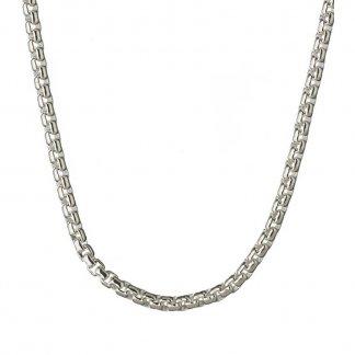 Silver 43CM Belcher Box Chain 5022.0143