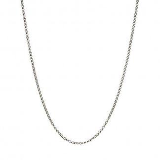 Silver 61CM Mini Belcher Chain 5020.0181