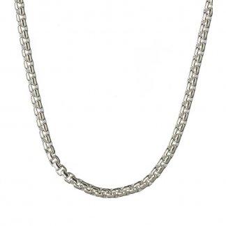 Silver 67CM Belcher Box Chain 5022.0144