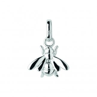 Silver Bee Charm