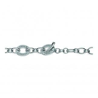 Silver Disc Baby Charm Bracelet 4510.0133