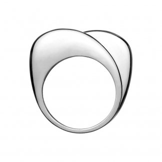 Silver Double Hope Ring