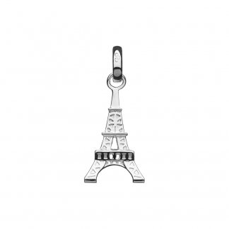 Silver Eiffel Tower Charm