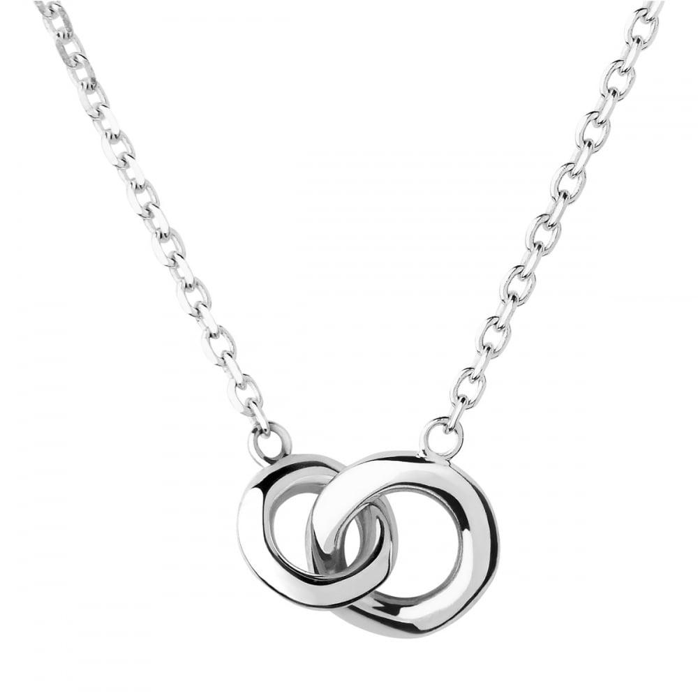 c653df4e7750 Links of London Silver Mini 20/20 Interlocked Necklace - Jewellery ...