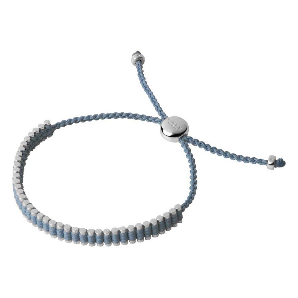 167a7ec076ef Links of London Baby Blue Mini Friendship Bracelet - Jewellery ...