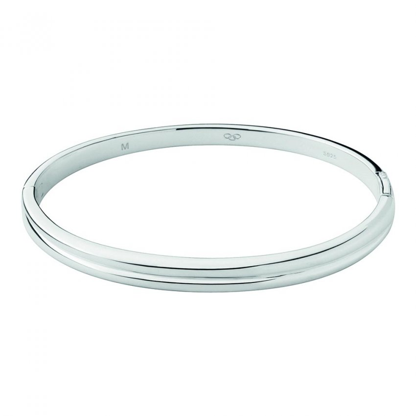 Links of London Sterling Silver Hope Hinged Bangle 5010.2023