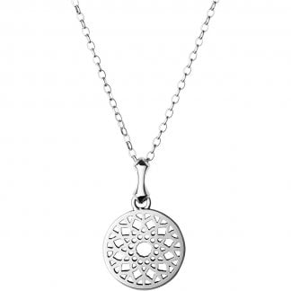 Sterling Silver Small Timeless Pendant Necklace
