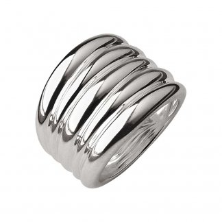 Hope Sterling Silver Wide Ring