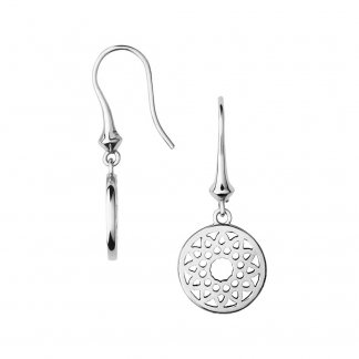 Timeless Sterling Silver Small Drop Earrings 5040.2554