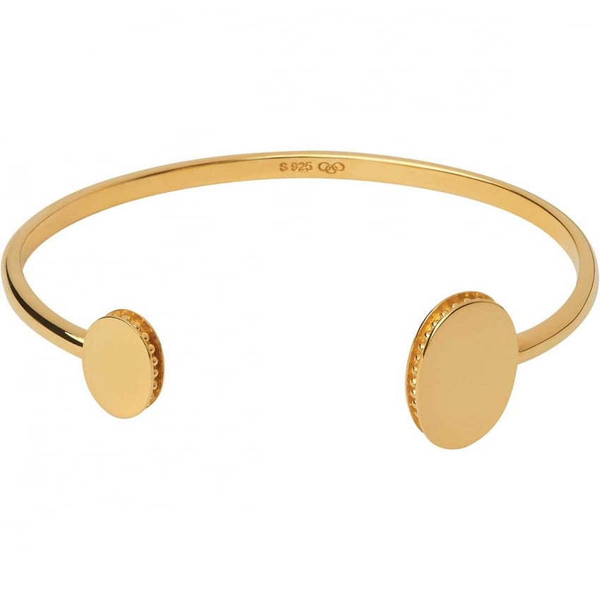 Links of London Yellow Gold Vermeil Narrative Cuff 5012.0425
