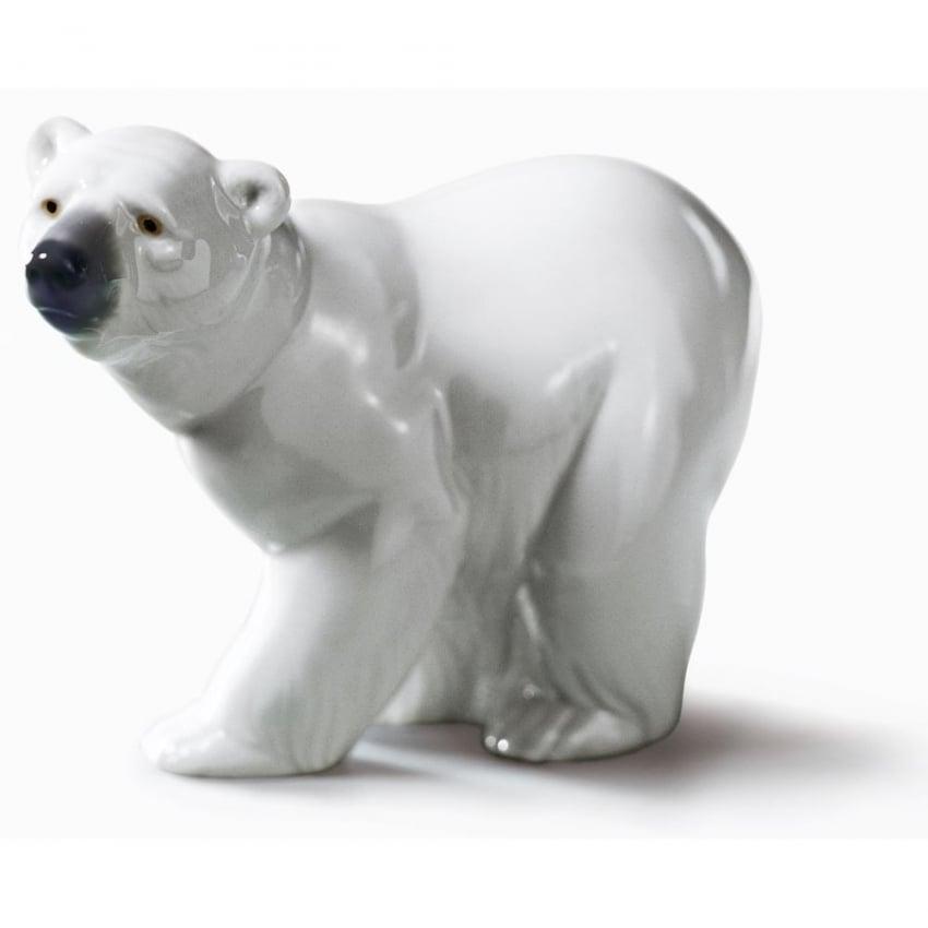 Lladró Attentive Polar Bear 010.01207