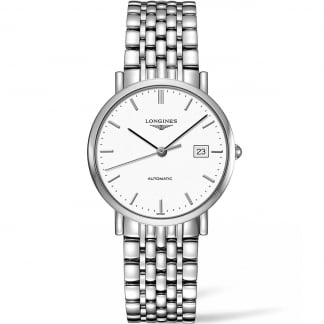 37MM Elegant Automatic Stainless Steel Watch L4.810.4.12.6