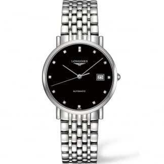 Elegant Automatic Diamond 37MM Midsize Watch L4.810.4.57.6