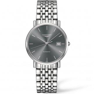 Elegant Collection Men's Automatic Bracelet Watch L4.810.4.72.6