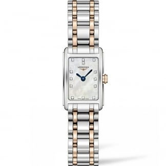 Ladies Bi-Colour DolceVita Diamond MOP Watch L5.258.5.87.7