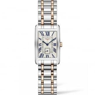 Ladies DolceVita 20.5MM Two Tone Quartz Watch L5.255.5.71.7