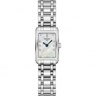 Ladies DolceVita Diamond Mother of Pearl Watch L5.258.4.87.6