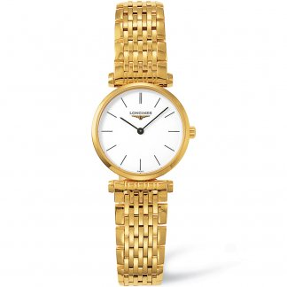 Ladies Gold Tone Steel La Grande Classique Watch