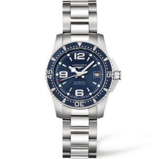 Ladies HydroConquest Blue Dial Automatic Watch L3.284.4.96.6