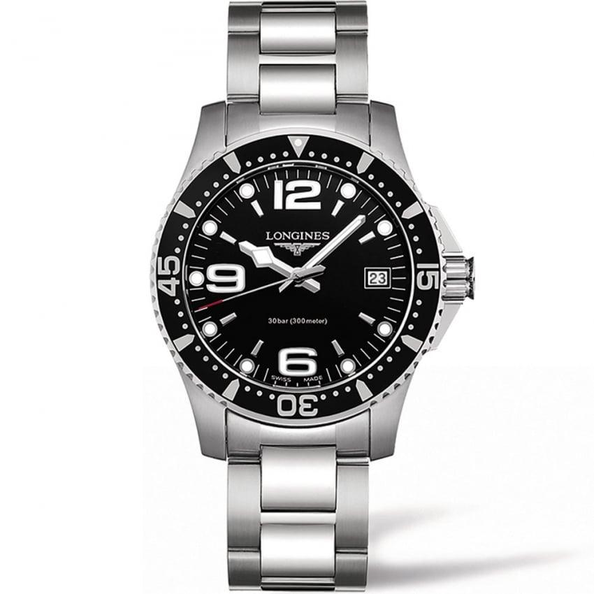 Longines Ladies HydroConquest Sport 34MM Quartz Watch L3.340.4.56.6