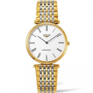 Ladies La Grande Classique Two Tone Automatic Watch L4.908.2.11.7