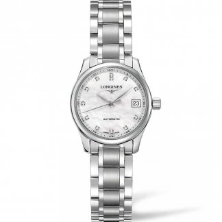 Ladies Master Collection Diamond Set Automatic Watch