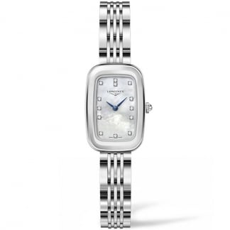 Ladies Mother of Pearl Diamond Equestrian Watch
