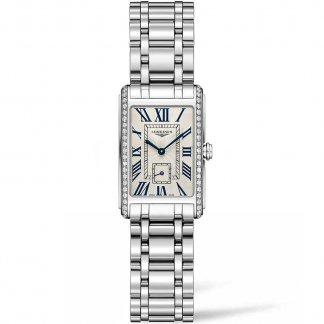 Ladies Steel Quartz Diamond Set DolceVita Watch L5.255.0.71.6