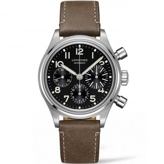 Men's Avigation BigEye 41mm Chronograph Watch