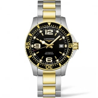 Men's Bi-Colour HydroConquest Automatic Watch