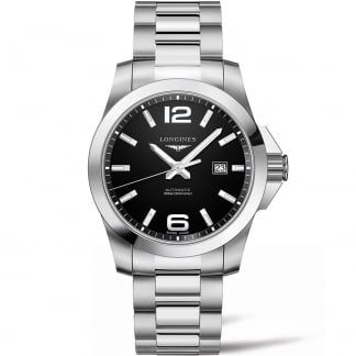 Men's Conquest 43mm Automatic Watch