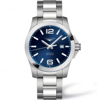 Men's Conquest Sport 43mm Automatic Watch