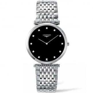 Men's Diamond La Grande Classique Quartz Watch L4.755.4.58.6