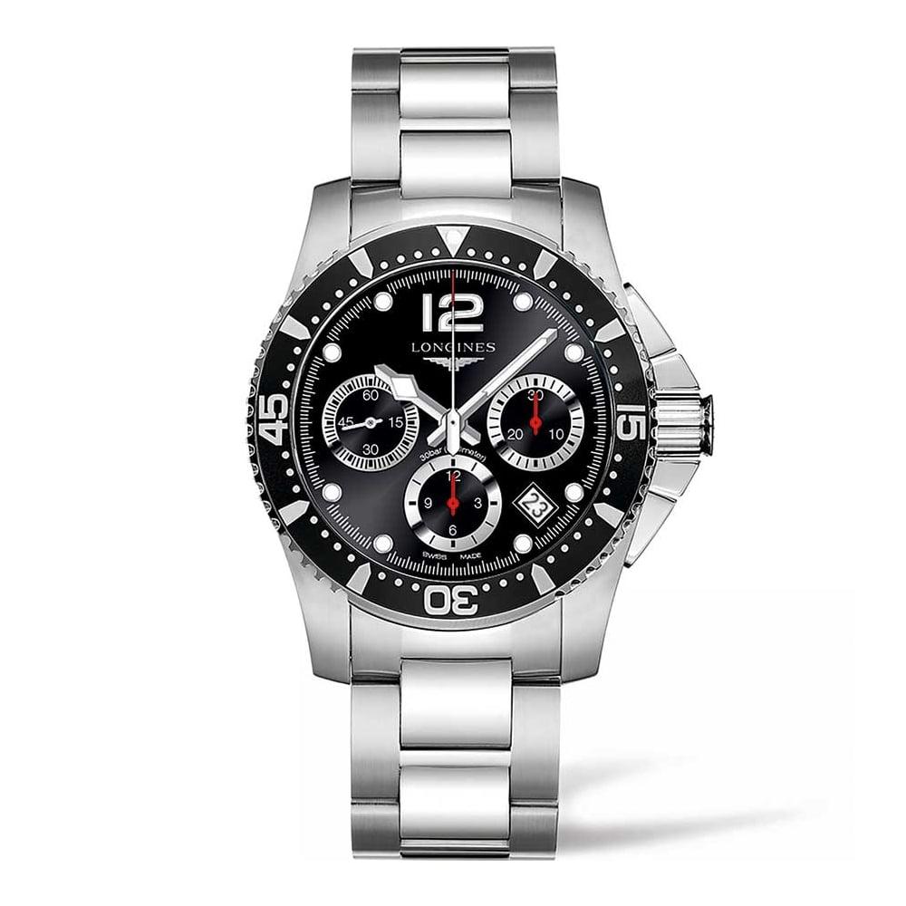 3e6c680f8 Longines Men's HydroConquest 41mm Automatic Chronograph Watch Product Code:  L3.744.4.56.6