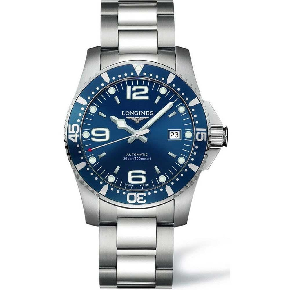 c955135daa1 Longines Men s HydroConquest 41mm Blue Dial Automatic Watch Product Code   L3.742.4.96.6