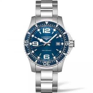 Men's HydroConquest 41mm Quartz Watch L3.740.4.96.6