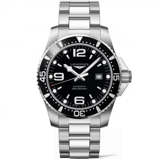 Men's HydroConquest 44mm Black Dial Automatic Watch