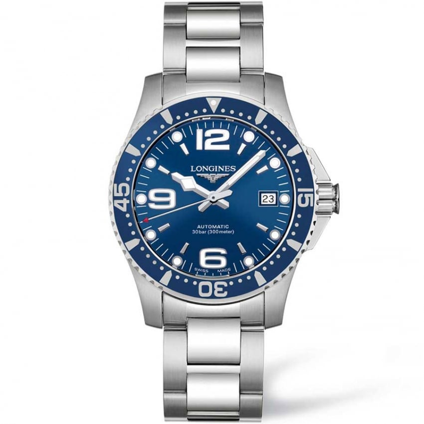 Longines Men's HydroConquest Automatic 39mm L3.641.4.96.6