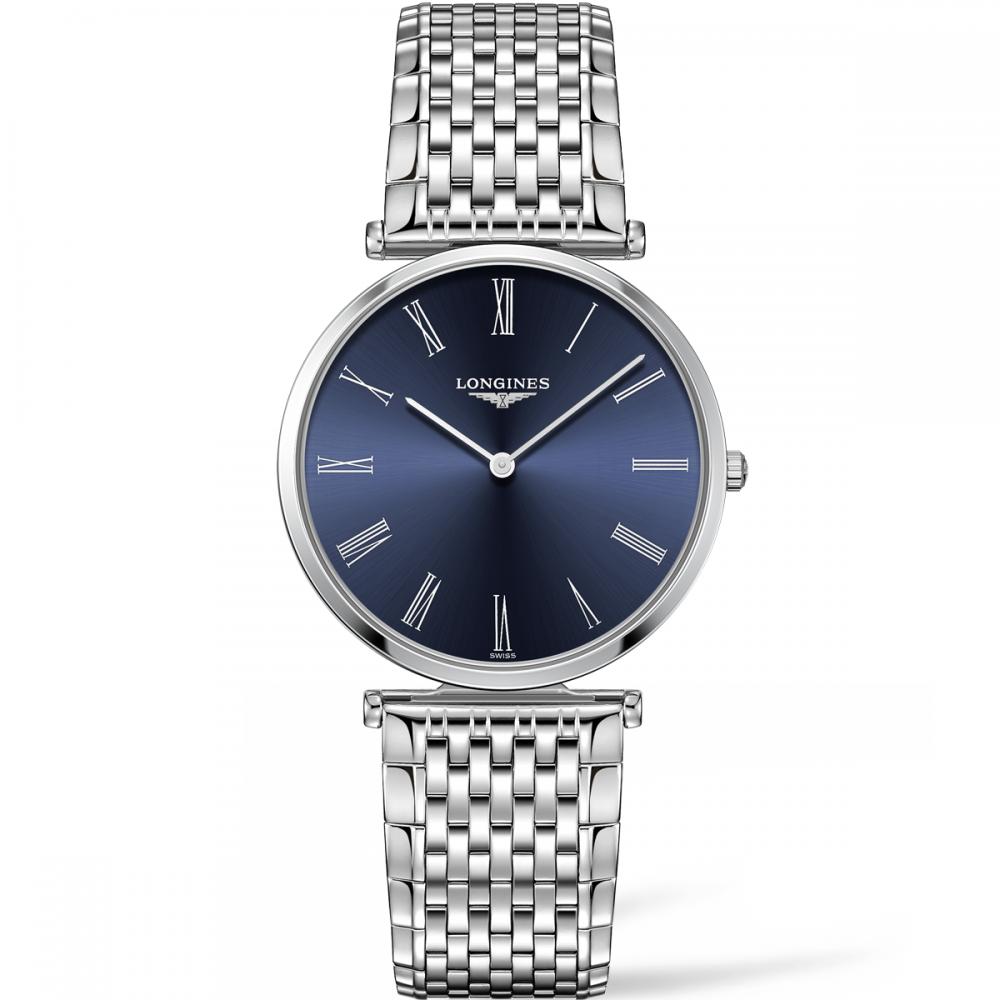 timeless design 93234 15c47 Longines Men's La Grande Classique Blue Dial Quartz Watch
